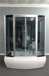EMPIRESHOWER R67-36WSB-HD (HEAVY DUTY) STEAM SHOWER WITH WHIRLPOOL TUB AND BLUETOOTH AUDIO 67x36x84 - Image 2