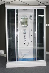"EMPIRESHOWER L90S27S-HD (HEAVY DUTY) STEAM SHOWER  55"" x 36"" x 85"" - Image 2"