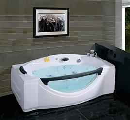 "Free standing JETTED BATHTUB LTA027 67"" x 31"" - Image 2"